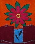 Gemälde-81-Plakatfarbe Format 42 cm x 52,4 cm
