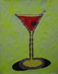 Gemälde-86-Plakatfarbe Format 42 cm x 52,4 cm