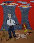 Gemälde-90-Plakatfarbe Format 42 cm x 52,4 cm
