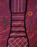 Gemälde-102-Plakatfarbe Format 42 cm x 52,4 cm