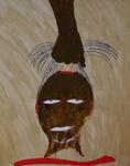 Gemälde-103-Plakatfarbe Format 42 cm x 52,4 cm