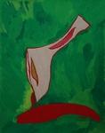 Gemälde-109-Plakatfarbe Format 42 cm x 52,4 cm