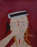 Gemälde-111-Plakatfarbe Format 42 cm x 52,4 cm
