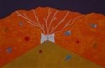 Gemälde-115-Plakatfarbe Format 42 cm x 52,4 cm