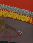 Gemälde-116-Plakatfarbe Format 42 cm x 52,4 cm