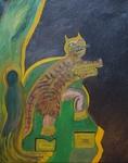 Gemälde Öl auf Leinen