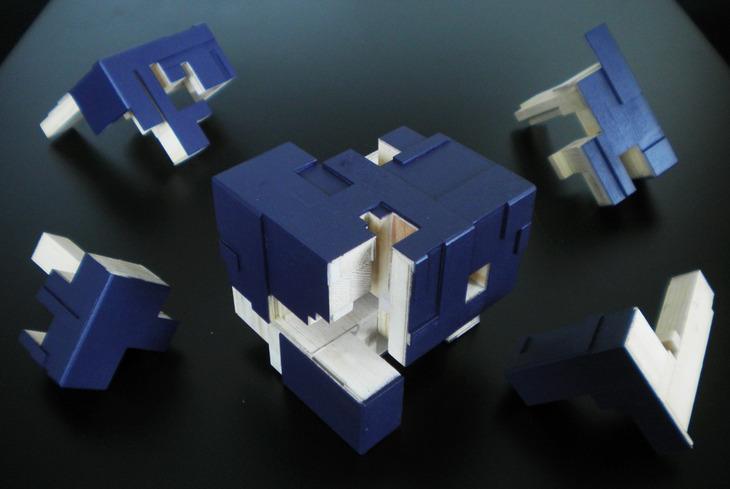 Interlock Puzzle-Box 2015 - Apart