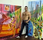 assaf henigsberg boy friend of the painter raphael perez