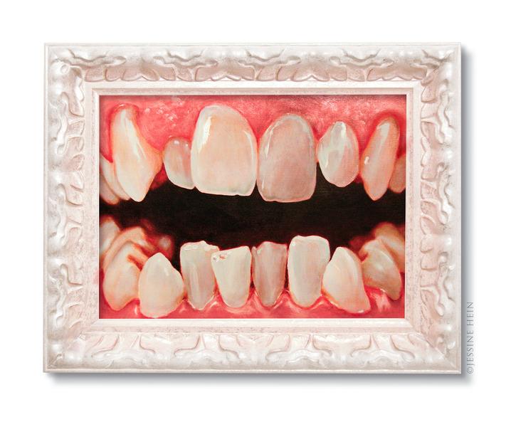 Jesus' teeth