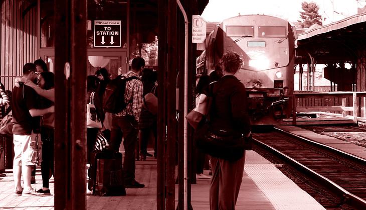 Train 108 Hartford to New York City