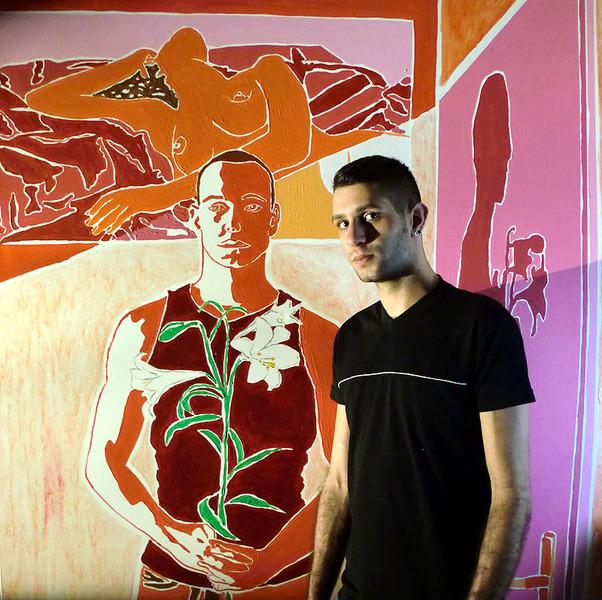 gay tel aviv visit the studio of the painter raphael perez