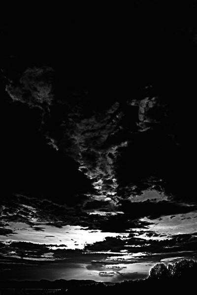 Darkness Descends and Obscures the World