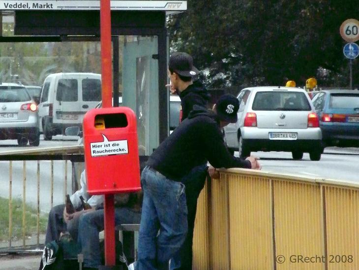 Die Raucherecke - Smokers Corner