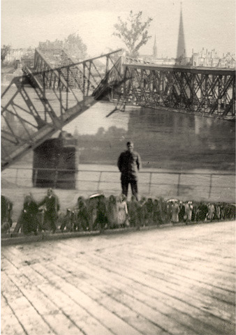"""""""Bridge Out"""", from series """"Love and War"""""""