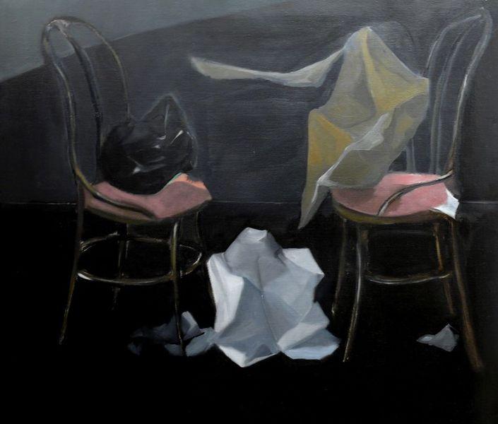 Noli Me Tangere,130x115cm, 2007 []