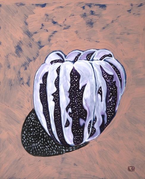 Gourd In Desert