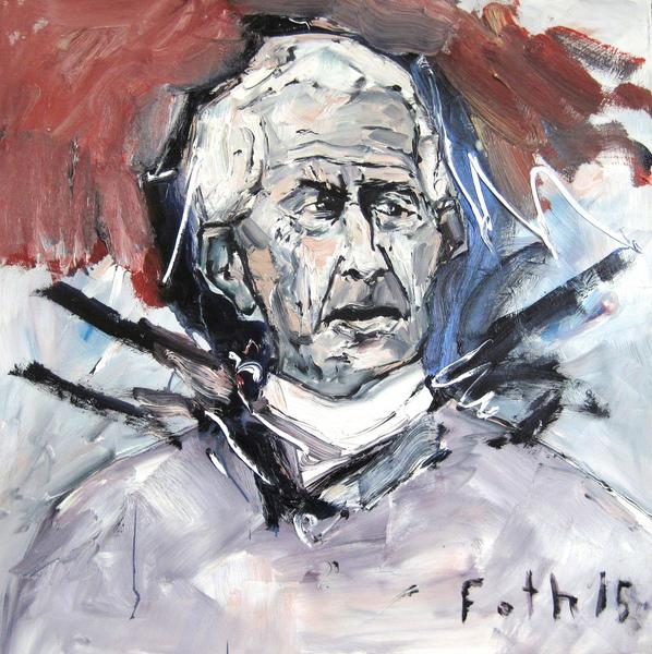 Bildnis eines zornigen Alten