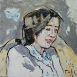 Bildnis eines lächelnden Mädchens