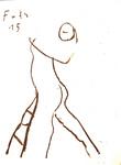 Schreitende Figur