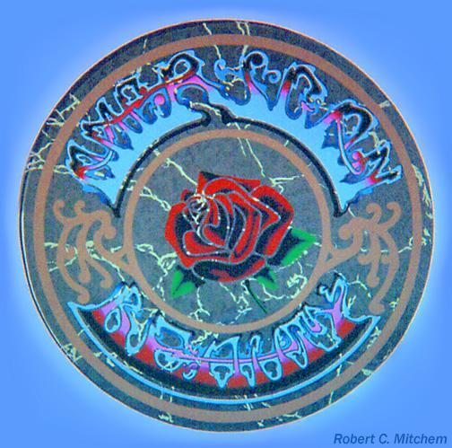 American Beauty Wall Painting