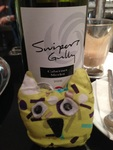 Travelling Owl Project - dinner at Swipers Gully