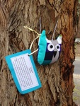 Travelling Owl Project- released at the roundabout in Warrandyte