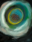 Planet und kosmischer Staub_ioana_luca