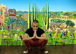 raphael perez naive art after reuven rubin painter israeli art