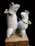 Supernal DISCO POLo, ceramic sculpture