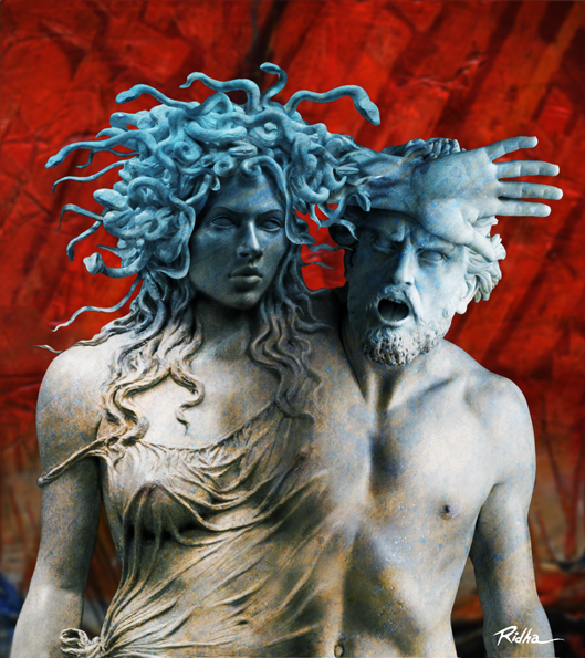 Medusa and Poseidon