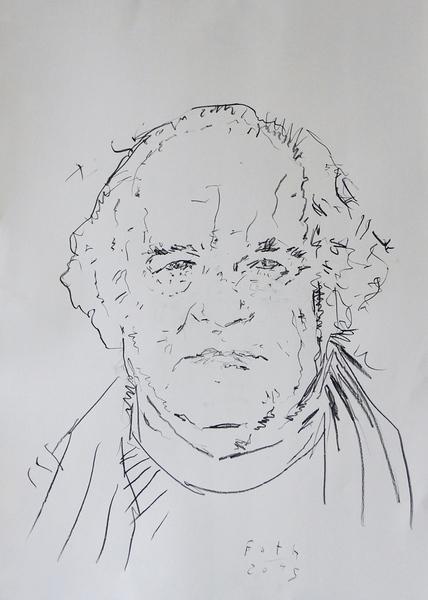 Studie zu Heinz Baumüller (nach einer Arbeit von Fred Urbanke) I