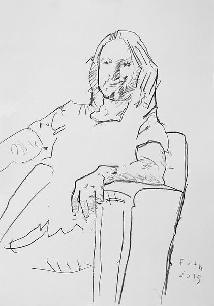 Studie zu Pietro Conti ( nach einer Arbeit von Jörg Strehlau )