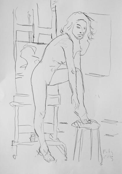 Die Zoé -Zeichnungen I -14