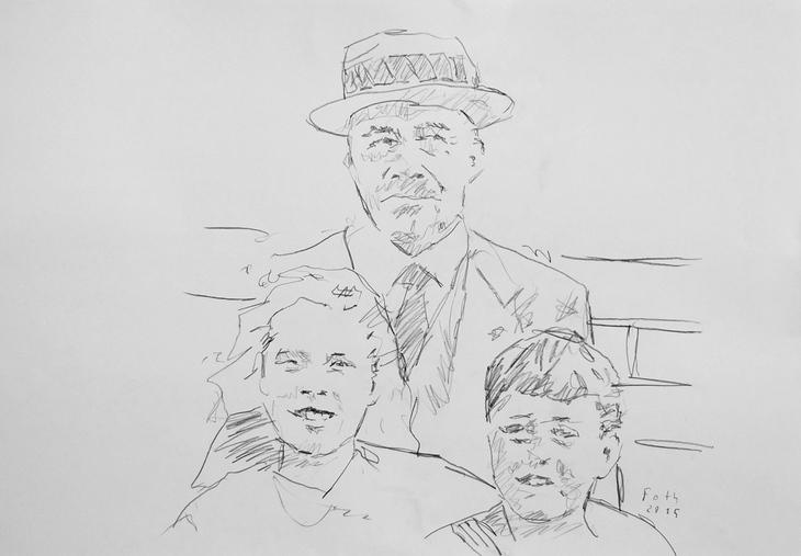 Dr. Hermann Foth, Vater, Tante