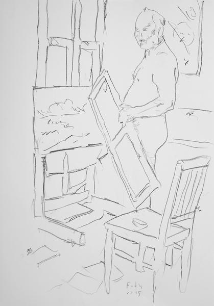 Selbst, im Atelier I