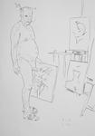 Selbst, im Atelier II