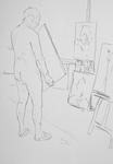 Selbst, im Atelier III