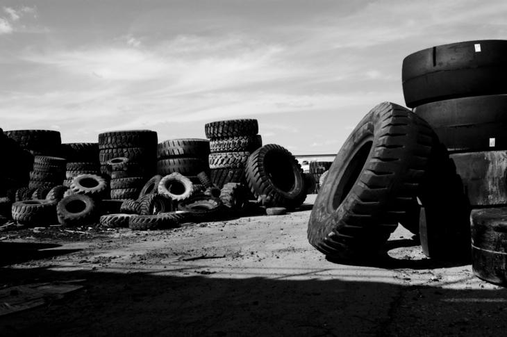 Access Roads- Tire Graveyard