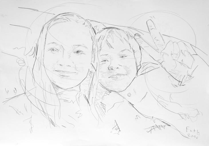 Geschwister, Antonia und Nicho