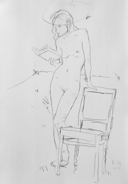 Lesende III