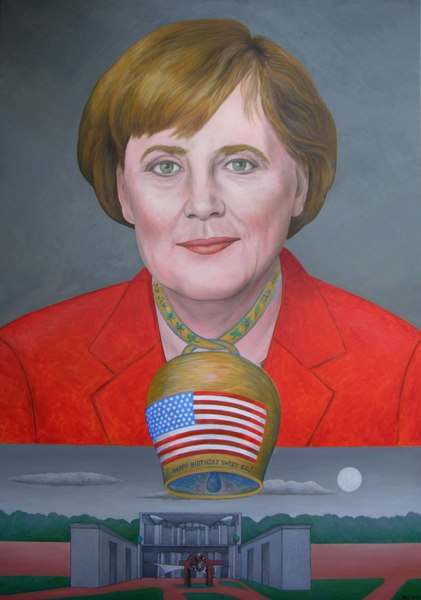 Angela Merkel – A Minor Adjustment –