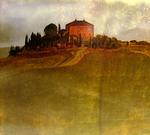 Sunset over Studio del paesaggio