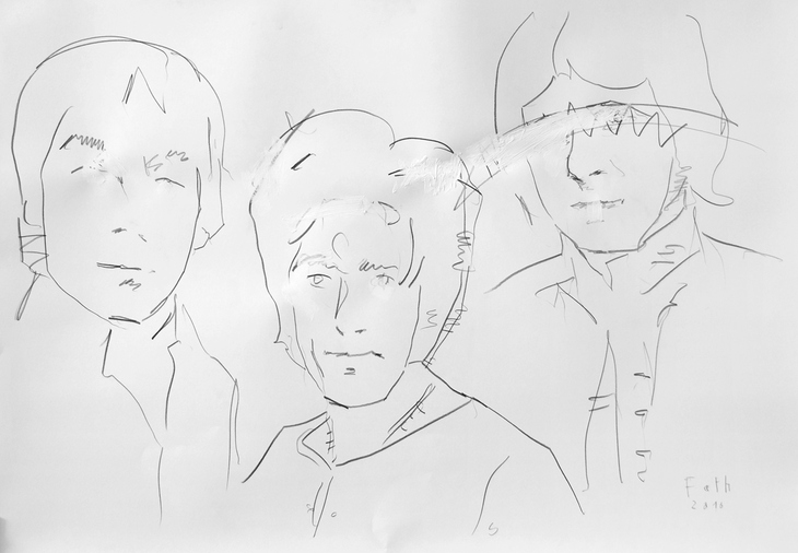 1964, Keith Moon, Roger Daltrey, John Entwistle