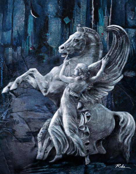 Pegasus and Bellerophon