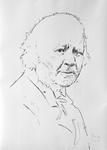 Studie zu Honoré Daumier