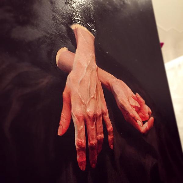 Hände detail