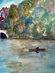 Bootsfahrt im Rhein