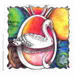 Glühendes Herz