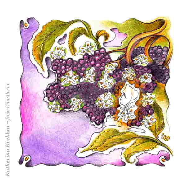 Frau Holles Blütenbeeren
