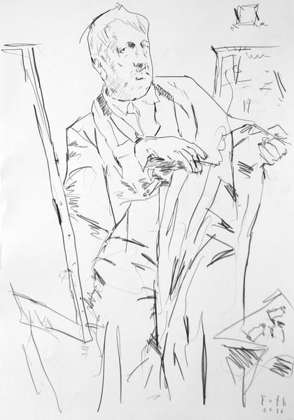 Studie zu Giorgio de Chirico